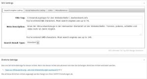 SEO Plugins für WordPress helfen beim Onlinemarketing für Autoren