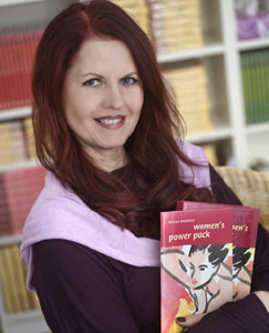 Portrait Bestsellerautorin Helga Baureis
