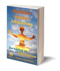 Taschenbuch Cover Meditation Hypnose Entspannung