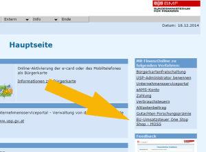 Finanzonline_MOSS_Registrierung