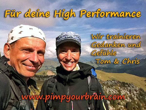 Chris und Tom am Gipfel deine High Performance_600 Dankbarkeit Danke