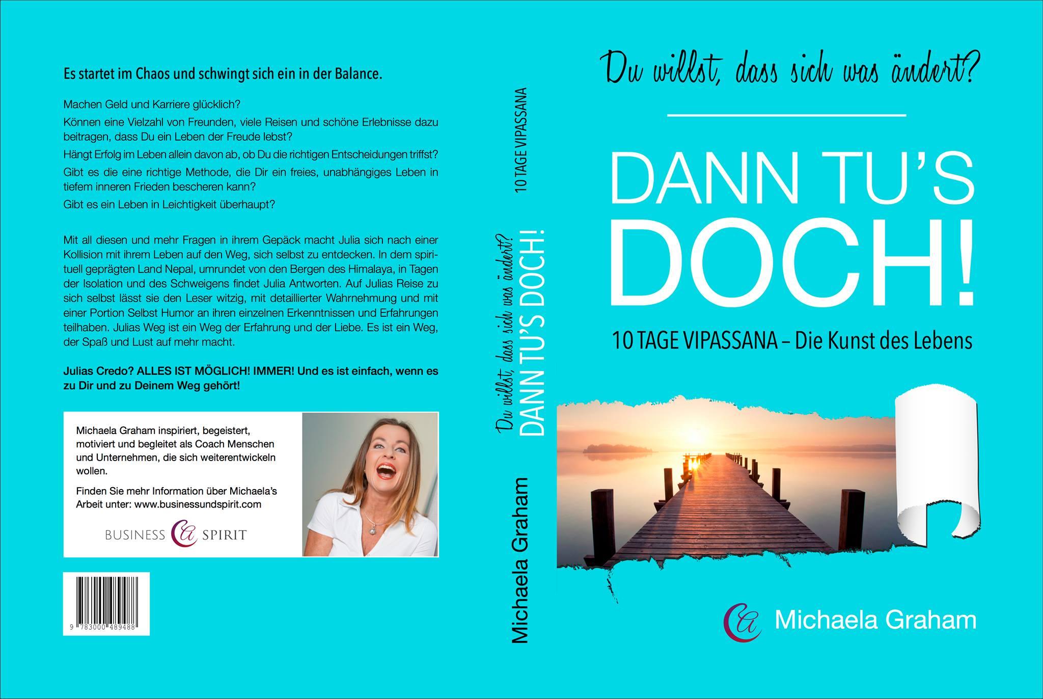 Mein erstes Buch – ein Erfolgsbericht von Michaela Graham