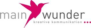 Logo Buchmarketingagentur Mainwunder