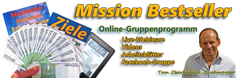 Mission Bestseller Buchmarketing Onlinekurs