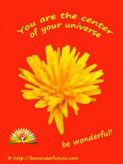 Du bist der Mittelpunkt deiner Welt - Anerkennung