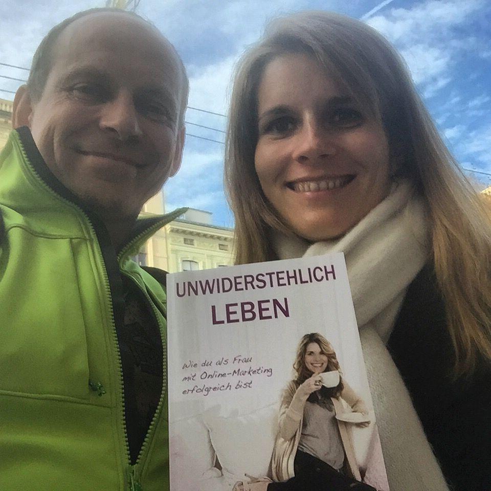 Mara Stix und Tom Oberbichler Selfpublishing und Onlinemarketing