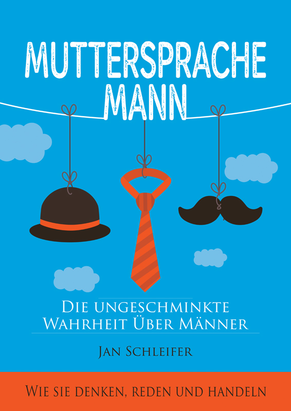 Cover Muttersprache Mann - Self Publishing Buch