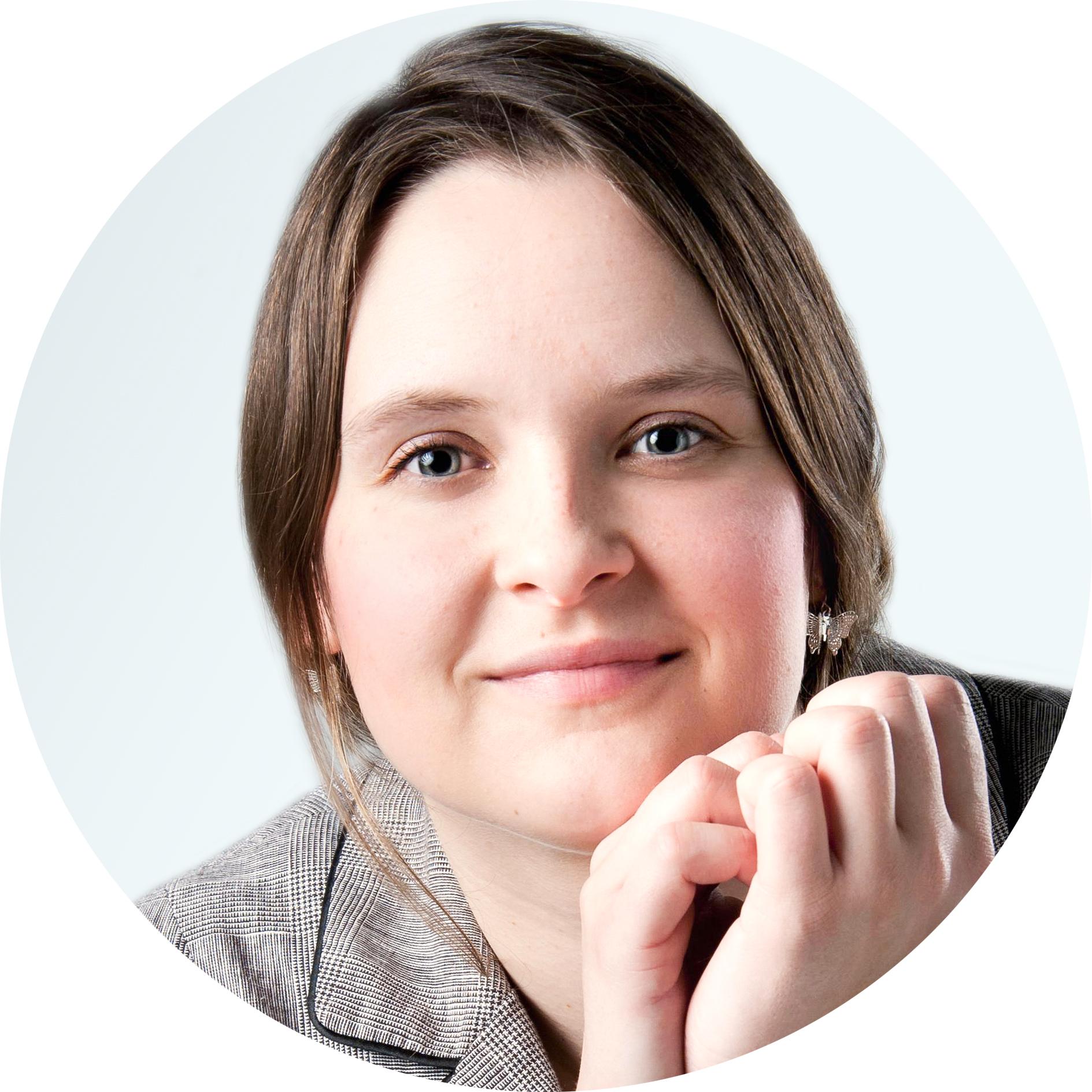 Portrait von Katherina Lewald, Onlinemarketerin.