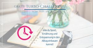 Einladung zur Turbo Fitness Challenge von Alex Broll
