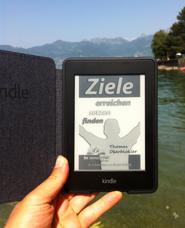 Kindel Paperwhite - ebook lesen am Strand