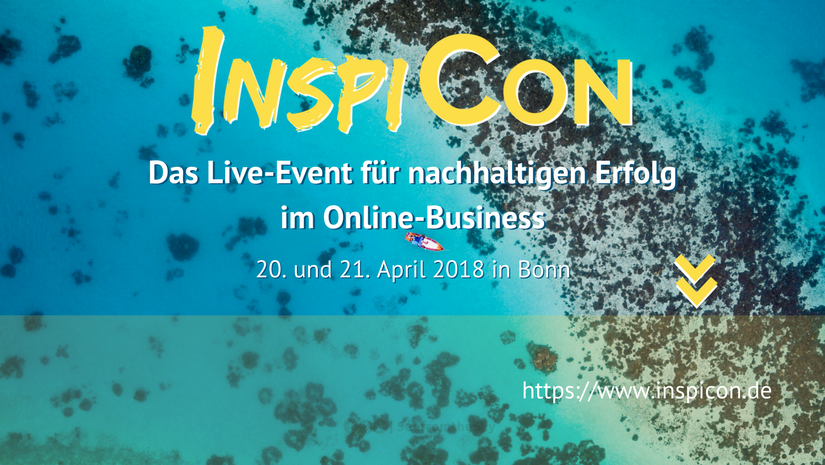 Online to Offline – nachhaltiges Online-Marketing live, die InspiCON 2018