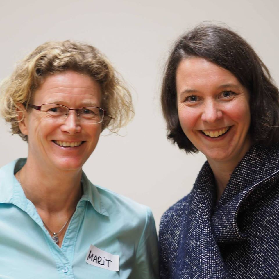 Marit Alke und Katrin Linzbach