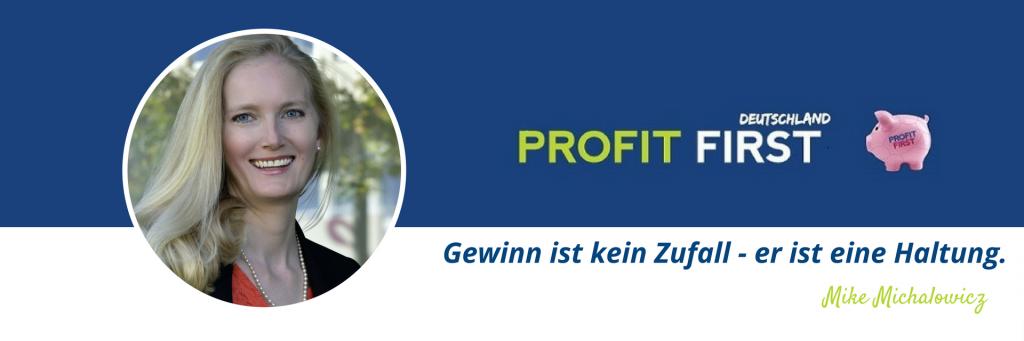 Banner Profit First Benita Königbauer