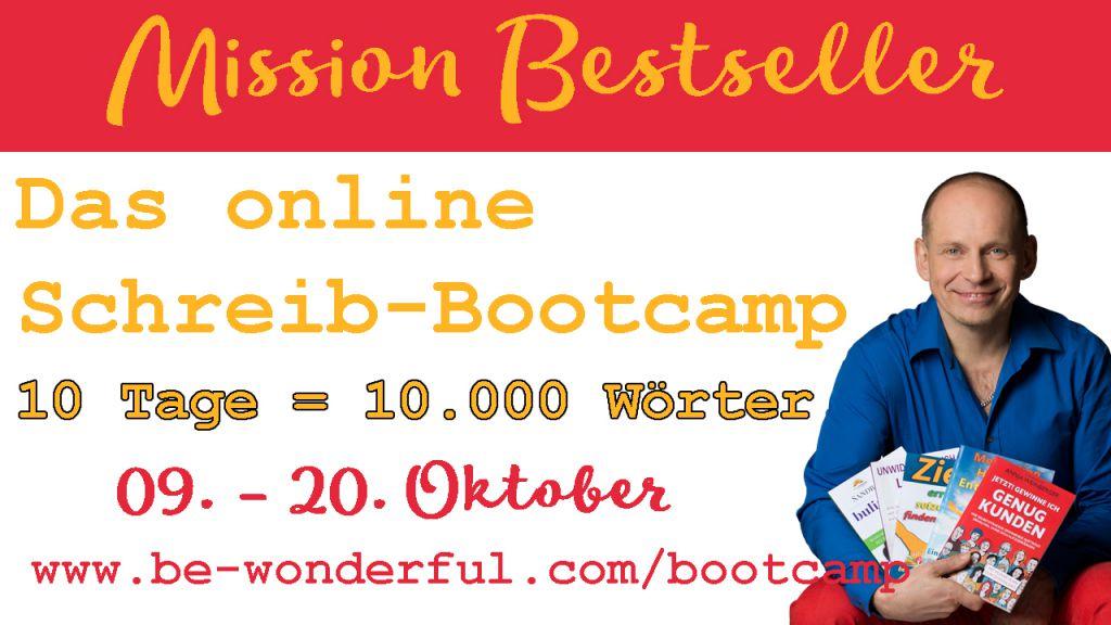 10 Tage 10.000 Wörter - DAS online Schreib-Bootcamp