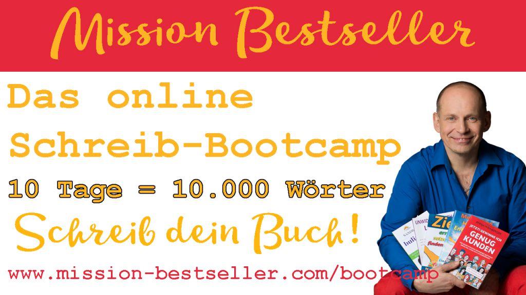 10 Tage 10.000 Wörter das online Schreib-Bootcamp