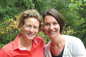 Katrin Linzbach und Marit Alke © Birgit Schultz
