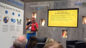Mission Bestseller bei Amazon KDP Frankfurter Buchmesse Foto Daniel Morawek