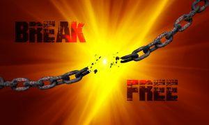 Ketten sprengen - Freiheit