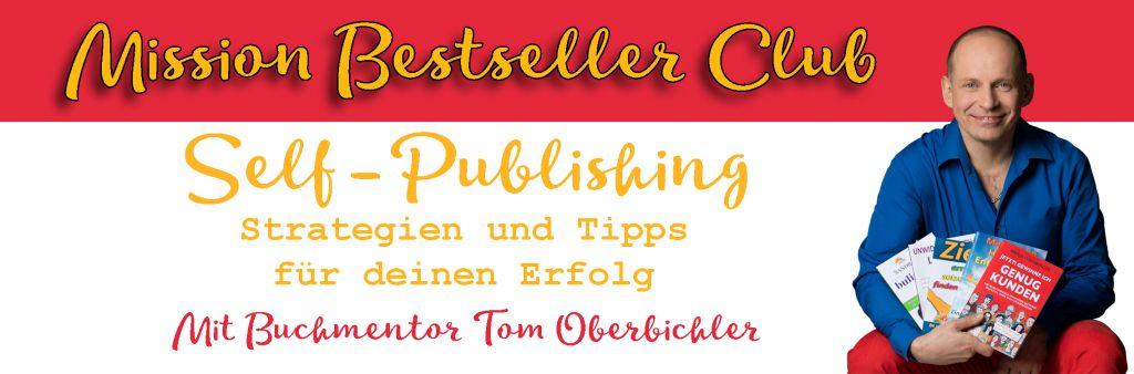 Mission Bestseller Club Selfpublishing Mitgliederbereich