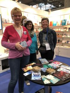 Meet and Greet beim Selfpublisher Verband Buchmesse Leipzig 2018
