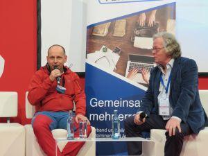 Tom Oberbichler bei Ruprecht Frieling Leipziger Buchmesse 2018