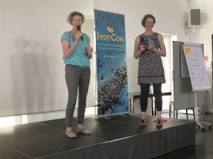 Marit Alke und Katrin Linzbach auf der Inspicon