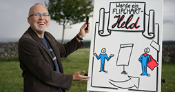 David Goebel am Flipchart