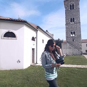 Christina Baier in Kroatien
