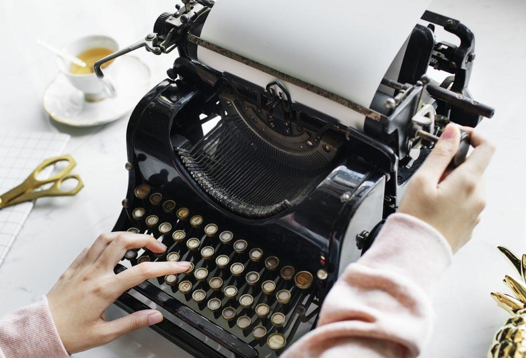 mechanische Schreibmaschine