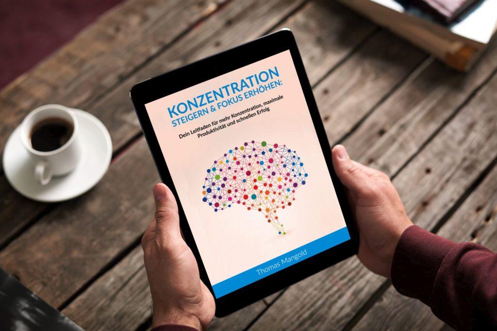 Konzentration steigern und Fokus erhöhen am Kindle eReader