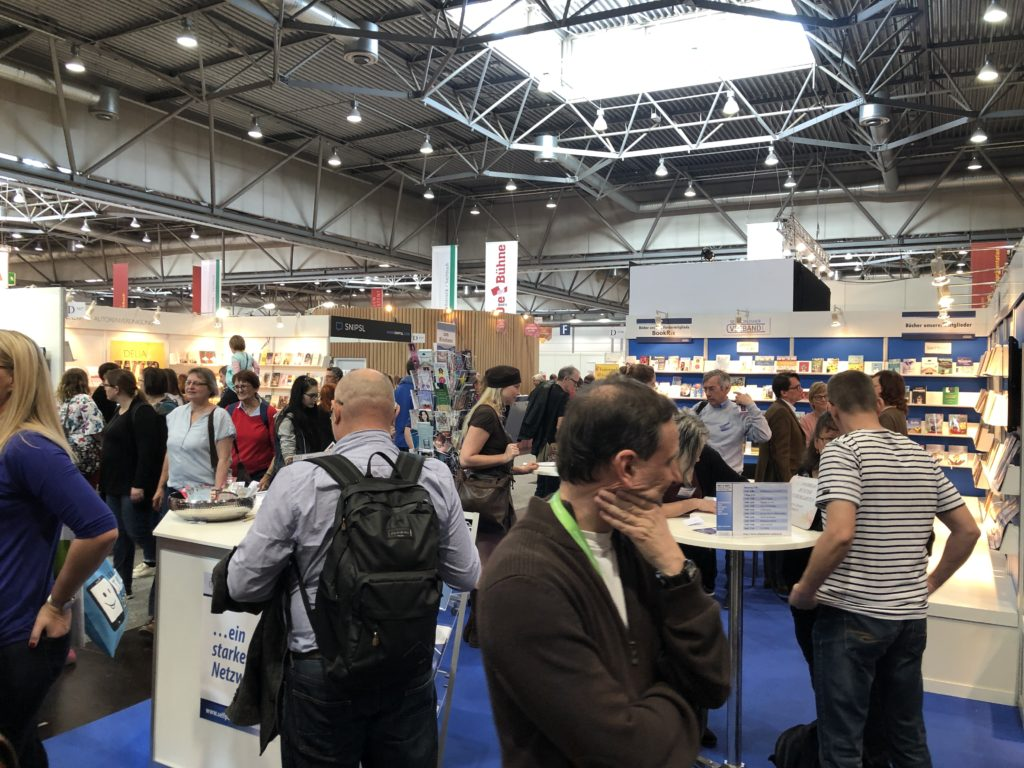 Stand Selfpublisher Verband LBM19
