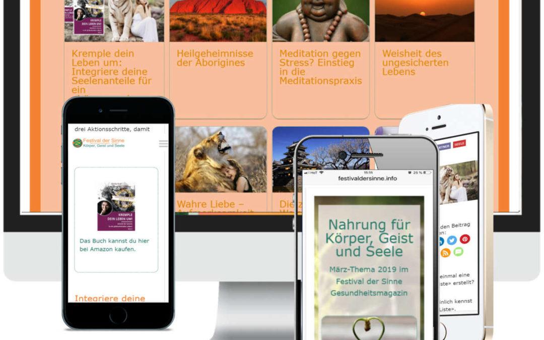 Onlinemagazin Blog Buchmarketing