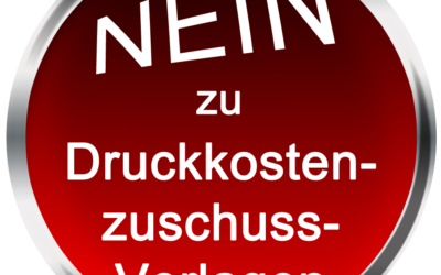 Folge 209 Nein zu DKZV – Druckkostenzuschussverlage, nein Danke