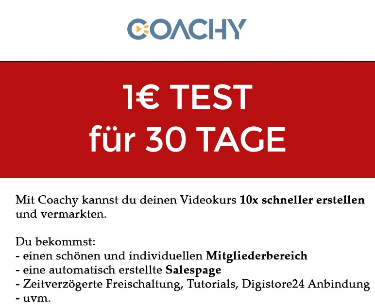 Banner für die Coaching-Software Coachy