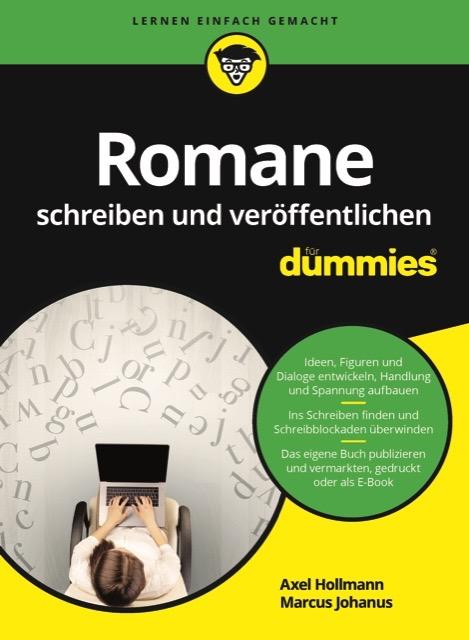 Cover des Schreibratgebers Romane schreiben und veröffentlichen für Dummies