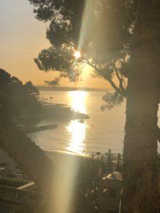 Sonnenaufgang Schreibcamp Mallorca