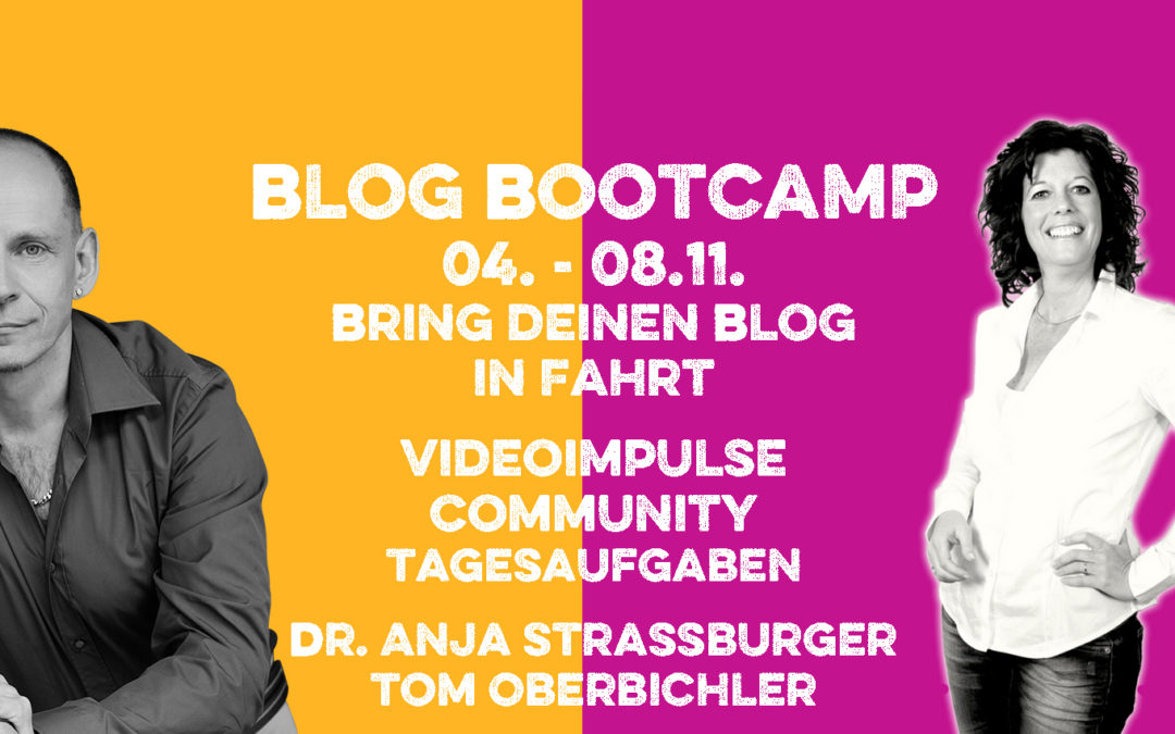 Folge 237 Blog-Booster – wie du deinen Blog als Marketingtool nutzt – mit Anja Strassburger