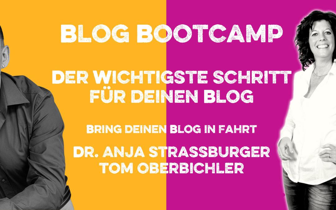Folge 235 Der wichtigste Schritt, um mit deinem Blog Erfolg zu haben – mit Anja Strassburger