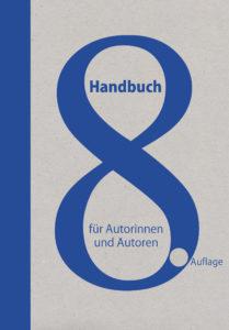 Cover Handbuch für Autorinnen und Autoren