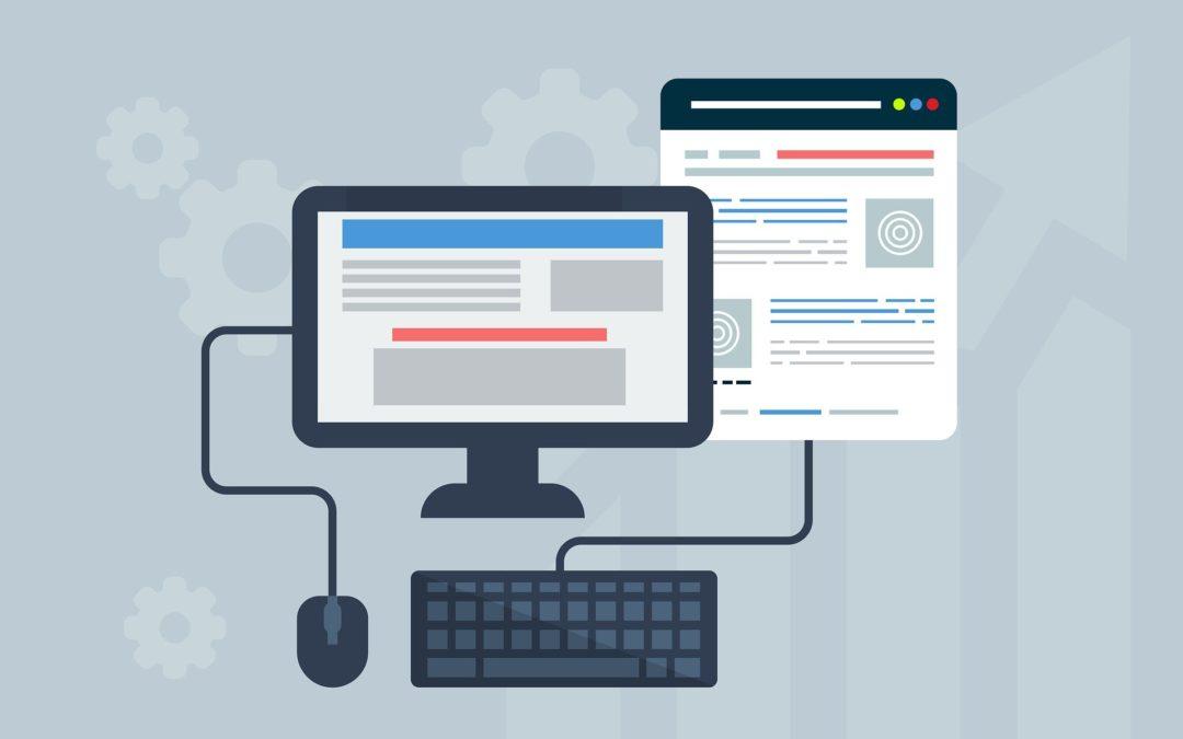 Stilisiertes Webdesign - Internetseiten für Autoren und Autorinnen