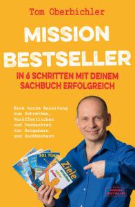 Buchcover - In 6 Schritten mit deinem Sachbuch erfolgreich - Selfpublishing