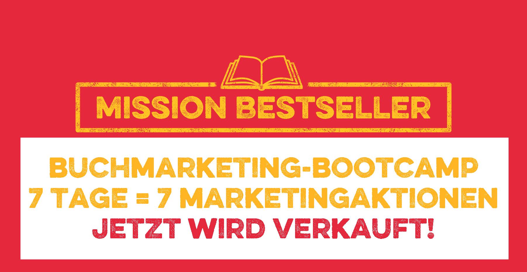 Online-Buchmarketing-Bootcamp - mit Mission Bestseller Logo
