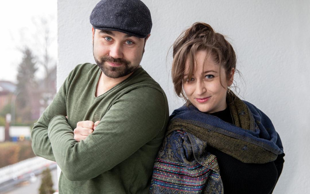 Jan Gießmann und Mary Cronos von Late Night Autoren