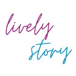Lively Story Schriftzug als Logo
